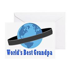 Worlds Best Grandpa Greeting Card