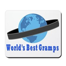 Worlds Best Gramps Mousepad