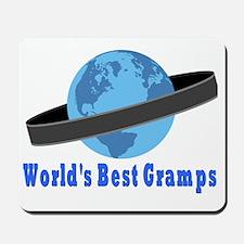 Worlds Best Gramps Mousepad