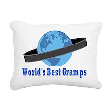 Worlds Best Gramps Rectangular Canvas Pillow