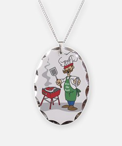 Kiss the cook Necklace