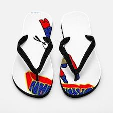 Torah man Flip Flops