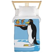 Penguins are cool Twin Duvet