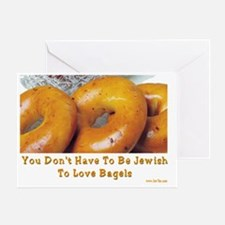 Love Bagels Greeting Card