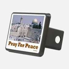 pray for peace Hitch Cover