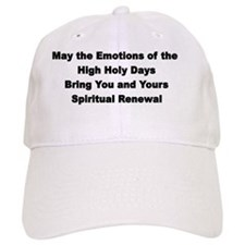 Emotions Rosh Hashanah Baseball Cap