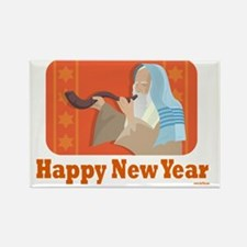 Happy Happy New Year Rectangle Magnet