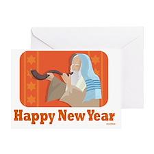 Happy Happy New Year Greeting Card