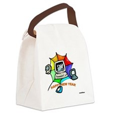 Jewish New Year Web Canvas Lunch Bag