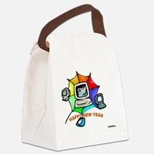 Jewish New Year Web Canvas Lunch Bag