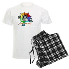 Jewish New Year Web Pajamas