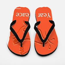 Year Of Peace Flip Flops