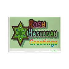 ROsh Hashanah Greetings Rectangle Magnet