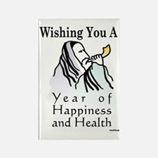 Wishing You a New Yer of Happines Rectangle Magnet
