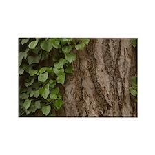 Rosh Hashanah Tree Of Life Rectangle Magnet