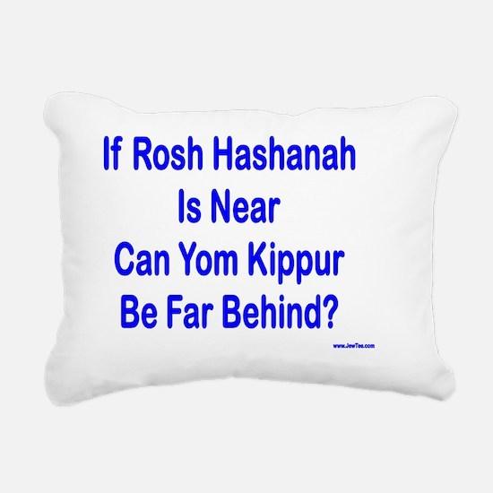 Rosh Hashanah is Near Rectangular Canvas Pillow