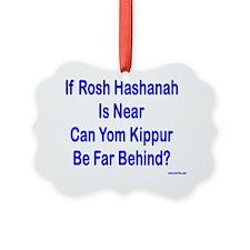 Rosh Hashanah is Near Ornament