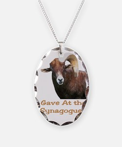 I Gave at the Synagogue Necklace