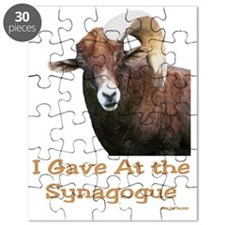 I Gave at the Synagogue Puzzle