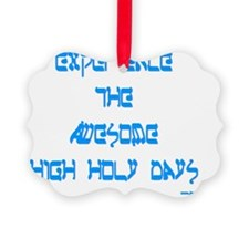 Awesome High Holy Days Ornament