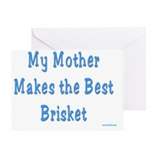 mother brisket Greeting Card