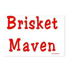 Brisket Maven Postcards (Package of 8)