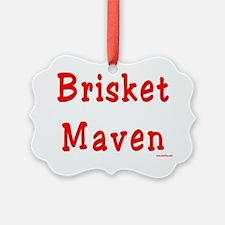 Brisket Maven Ornament