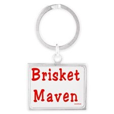 Brisket Maven Landscape Keychain