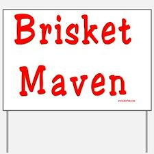 Brisket Maven Yard Sign