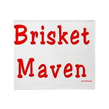 Brisket Maven Throw Blanket