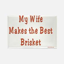 Wife Brisket Rectangle Magnet