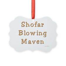 shofar blowing maven Ornament