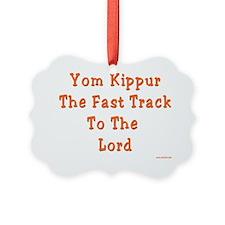 Yom Kippur Fast Track Ornament