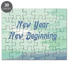 New Year New Beginning Puzzle