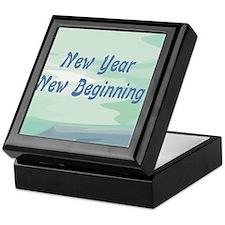 New Year New Beginning Keepsake Box
