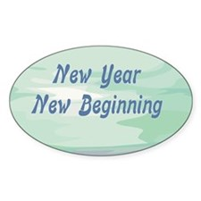 New Year New Beginning Decal