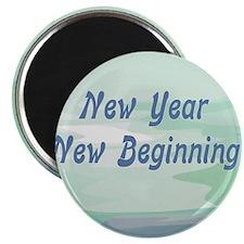 New Year New Beginning Magnet