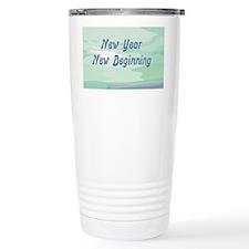 New Year New Beginning Travel Mug