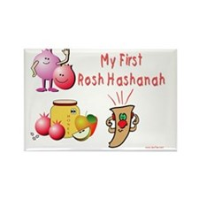 My First Rosh hashanah Rectangle Magnet