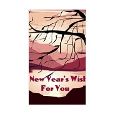 A new years wish for you Decal