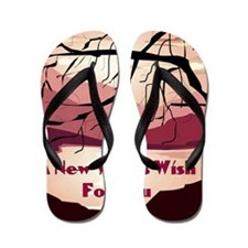 A new years wish for you Flip Flops