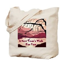 A new years wish for you Tote Bag