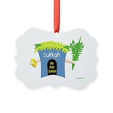 my first sukkot Ornament