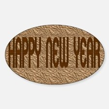 happy new year Decal