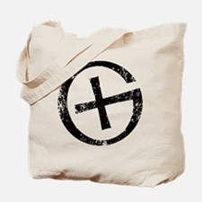 Geocache symbol distresssed Tote Bag