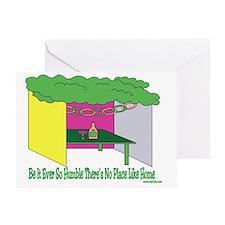Humble Home Sukkah Greeting Card