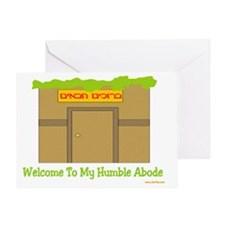 Welcome to My Humble Abode Greeting Card