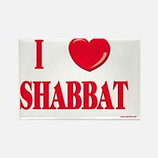 I love shabbat Rectangle Magnet