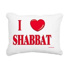 I love shabbat Rectangular Canvas Pillow
