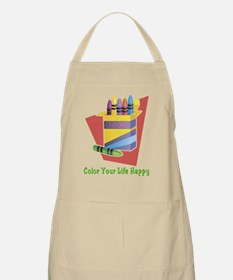 Color your life happy Apron